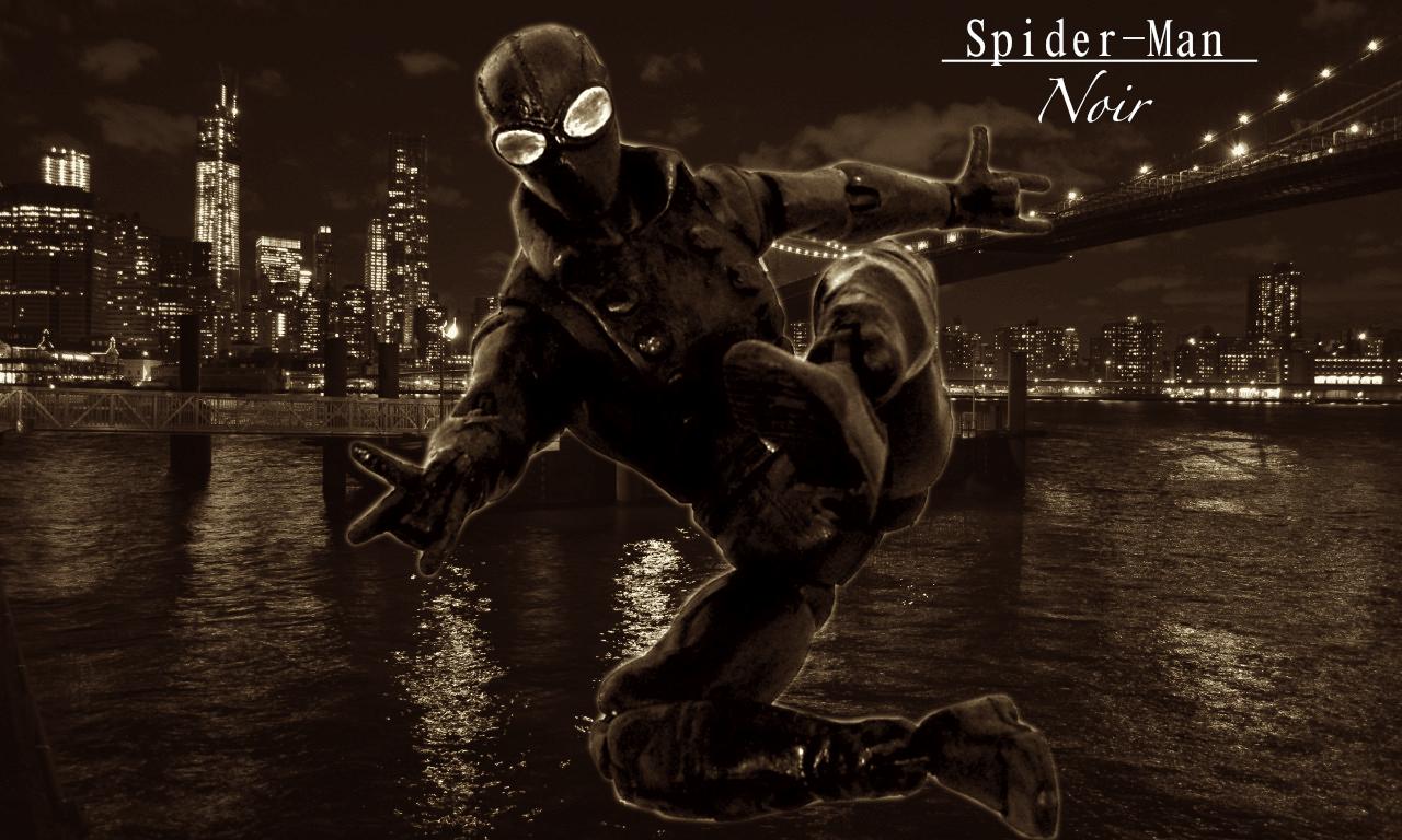 marvel noir spider man noir mike 39 s workbench. Black Bedroom Furniture Sets. Home Design Ideas